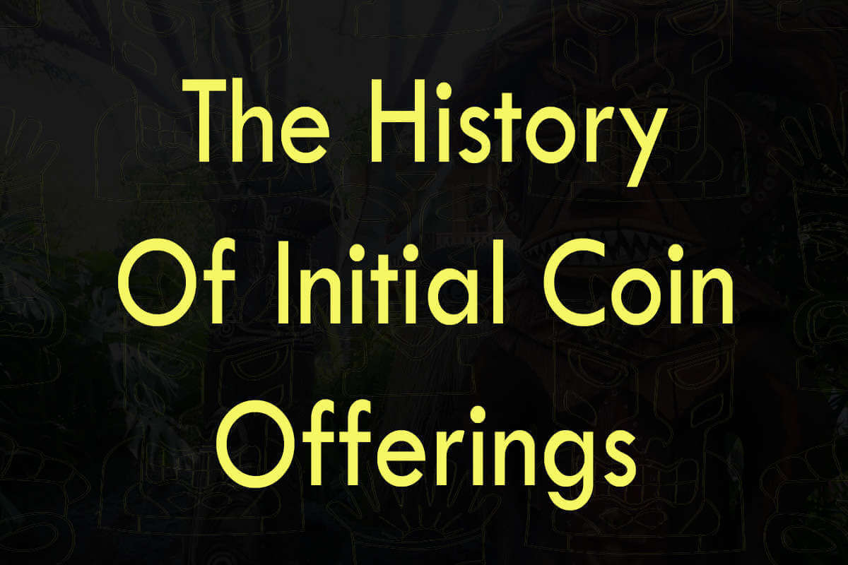 Post about the history of Initial ICO