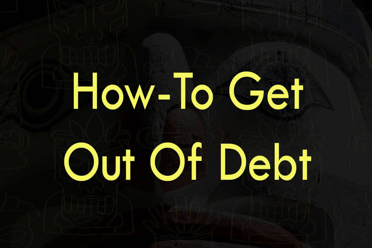 Post about how-to get out of debt