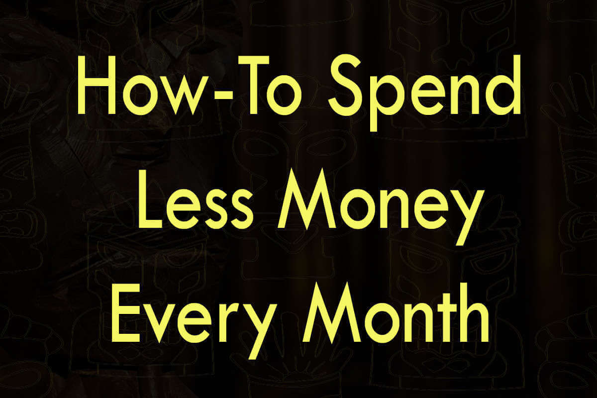 Post about how-to spend less money