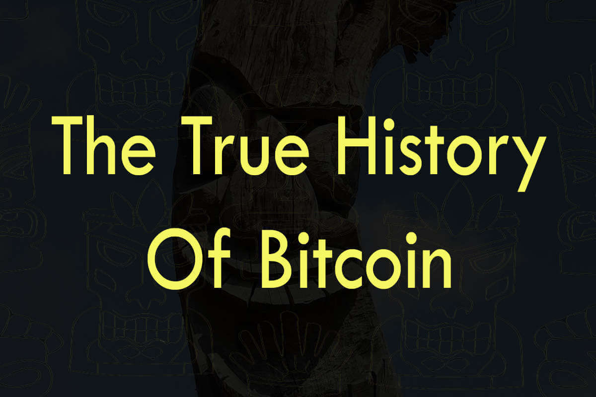 Post about the history of Bitcoin