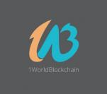 1WorldBlockchain logo