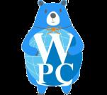 World peace coin logo