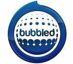 Bubbled logo