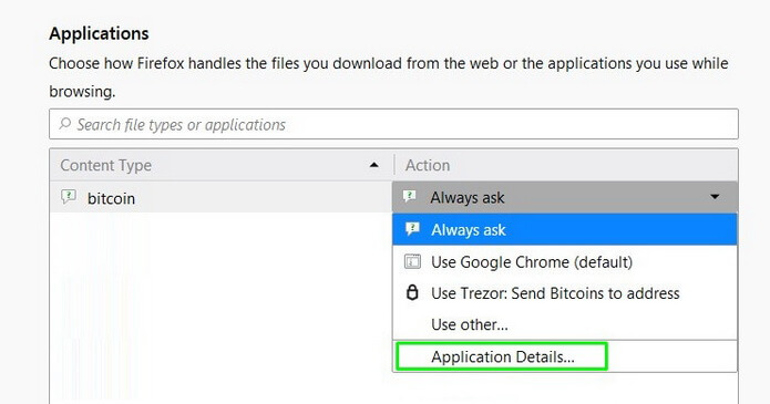 Mozilla Firefox application details