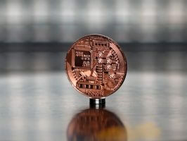 Bitcoin Cooper (BTC) commemorative coin