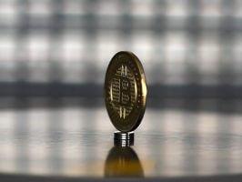 Superbrain Gold Men Bitcoin (BTC) commemorative coin
