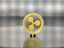 Globle Map Gold Ripple (XRP) commemorative coin