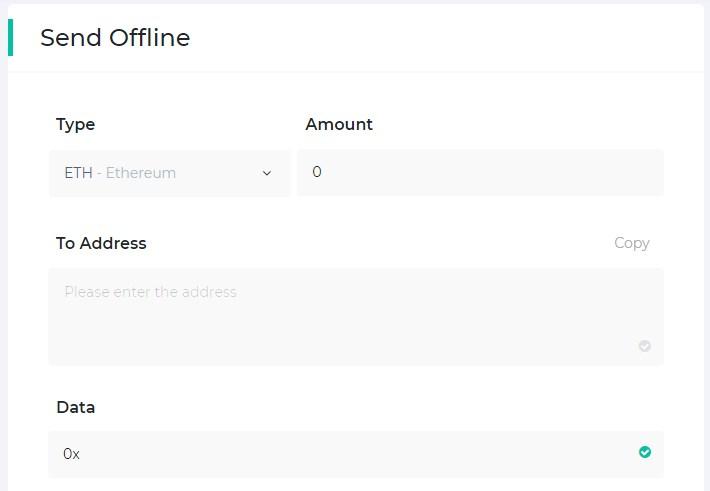 send offline