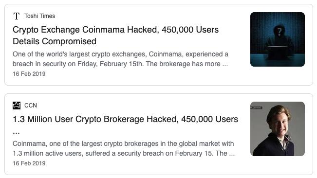 Coinmama Hacked