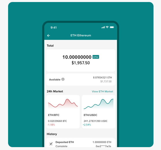 Poloniex mobile app