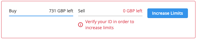 buy and sell limits