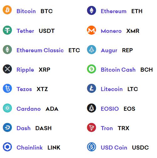 margin cryptocurrencies