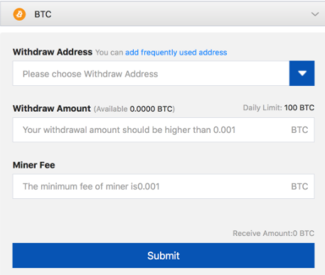 bitcoin withdraw