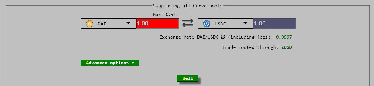 stablecoin swap