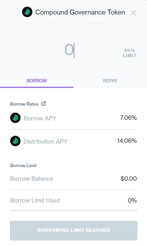 token borrow