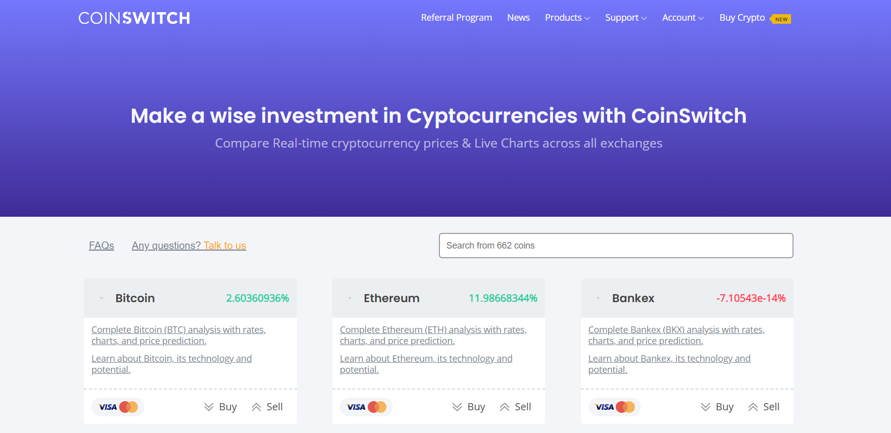 investment in crypto