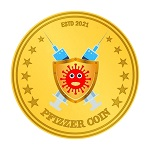 The Pfizzer Coin (TFC) logo